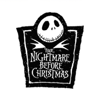 Nightmare Before Christmas Logo