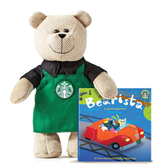 Starbucks Bearista Bear